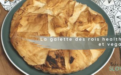 La galette des rois légère et gourmande (Vegan!)