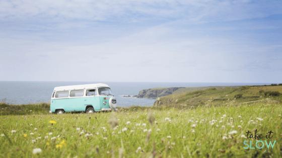 Slow travel road trip