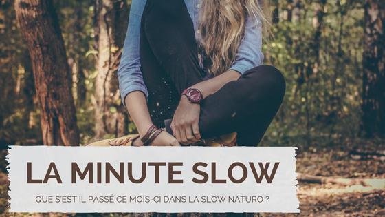 La minute slow : L'essentiel de Janvier 2017
