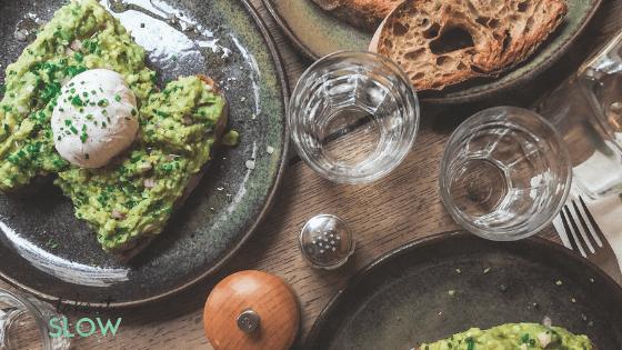 alimentation saine et slow food